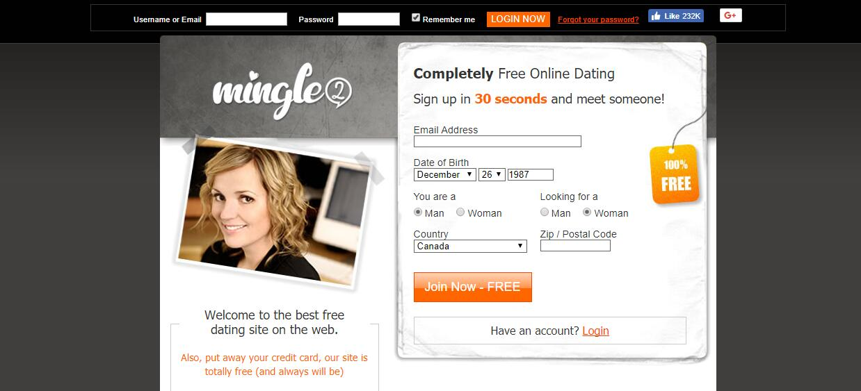 Totally free online dating sites in canada